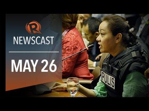 Rappler Newscast: Napoles affidavit, Filipino sentenced for espionage, Thailand coup