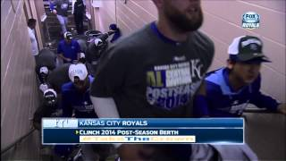 Royals Clinch Playoff Birth For The 1st Time Since 1985