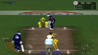 EA Cricket 2005 Gameplay (HARD) - 6 Wickets In 1 Over (World Record) - HQ