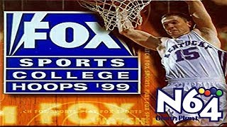 Fox Sports College Hoops 99 - Nintendo 64 Review - Ultra HDMI - HD