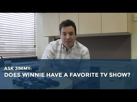 Ask Jimmy: What's Winnie's Favorite TV Show?