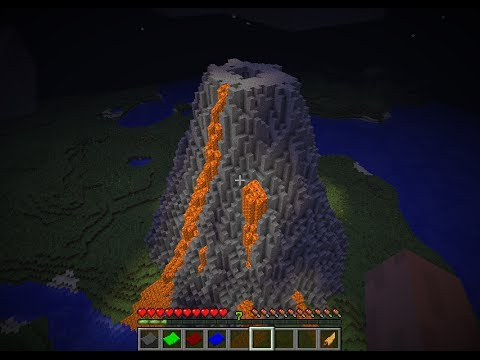 How to make a Volcano |World Edit Tutorial|