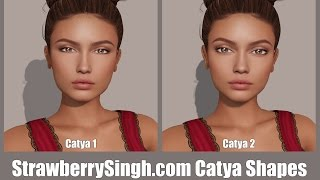 StrawberrySingh.com Catya Shapes in Second Life
