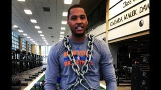 Carmelo Anthony Trains Harder After Finding Out Knicks Fired Phil Jackson