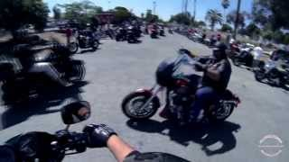 ROLLIN' with the HELLS ANGELS MC | Richmond Ca | Poker Run 2013