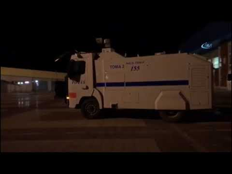 Taraftar ile Polis Arasında Arbede