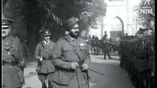 Maharaja Bhupinder Singh Of Patiala in London 1921