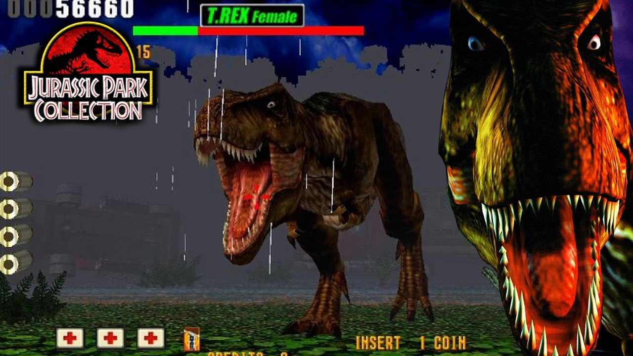 play jurassic park arcade game online