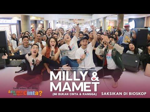 download lagu MILLY & MAMET (Ini Bukan Cinta & Rangga) - Nobar Di Bali & Media Visit gratis