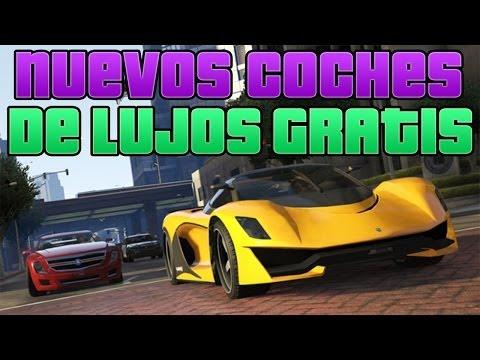 TRUCO GTA V ONLINE 1.11 TODOS LOS COCHES DE LUJO GRATIS   DINERO INFINITO