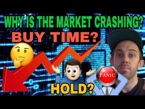 ARE PANIC SELLERS CREATING A MARKET CRASH AND A GOOD TIME TO BUY RIGHT NOW?