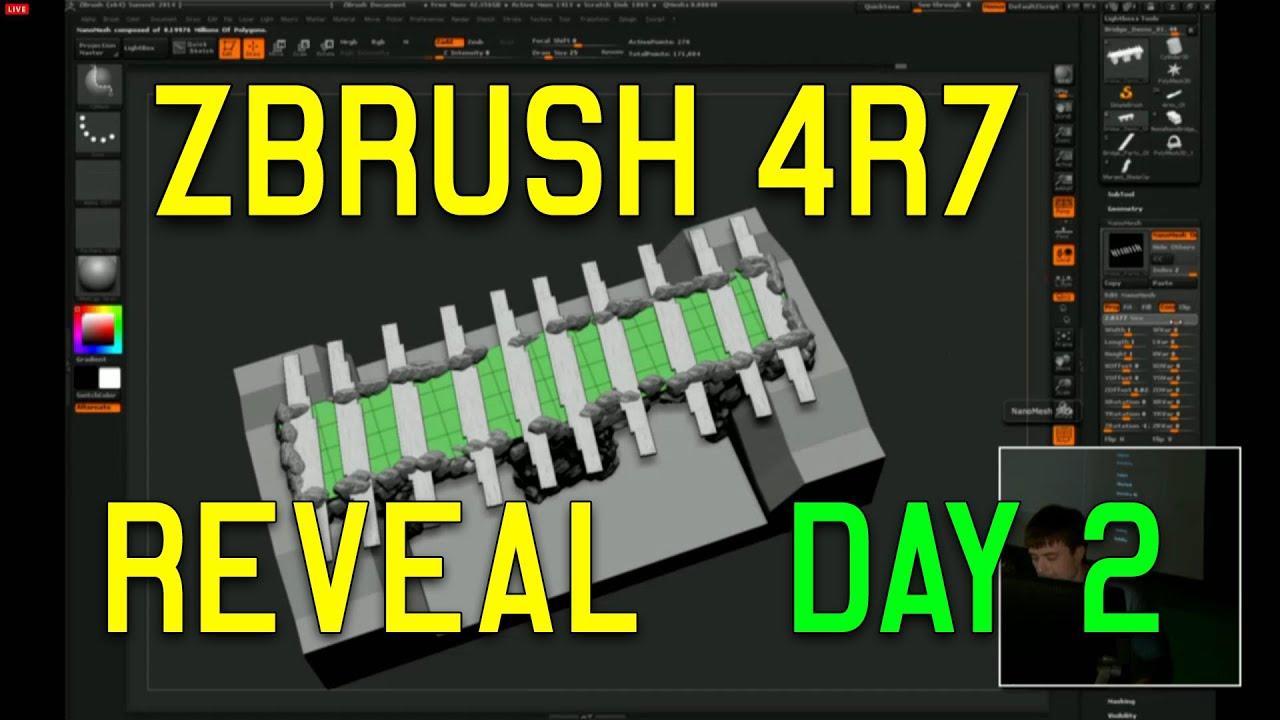 ZBrush 4R7 64bit REVEAL DAY 2 (Full Demo HD)