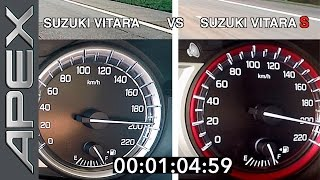 SUZUKI BATTLE: VITARA versus VITARA S - FULL THROTTLE (2016)