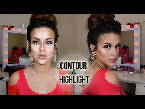 How To: Contour And Highlight   Drugstore & High End Version video