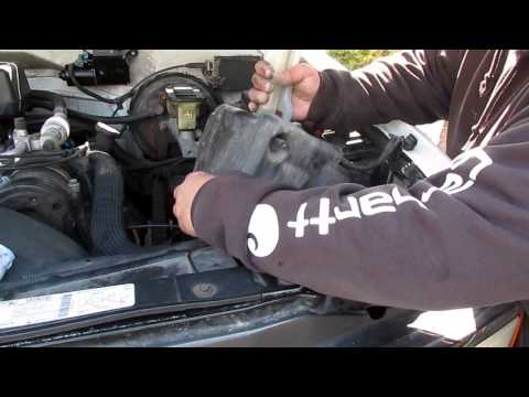 Washer fluid pump test and replacement  1997 Chevy Silverado
