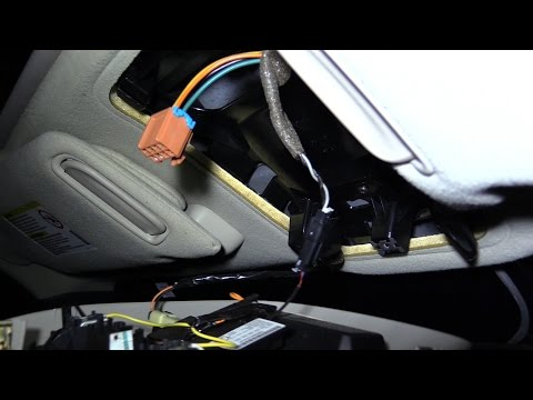 How to open /close moon/sun ROOF when switch won't work-EASY