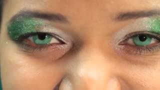 Beautiful Emerald Green Contact Lenses