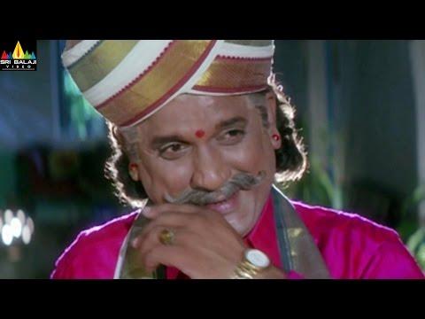 Subhakankshalu Movie Jagapathi Babu Comedy with AVS | Telugu Movie Scenes | Sri Balaji Video