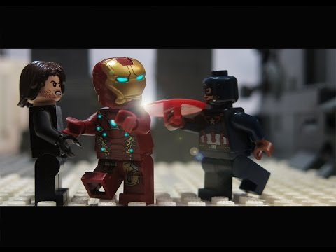 LEGO Captain America: Civil War in 3 Minutes