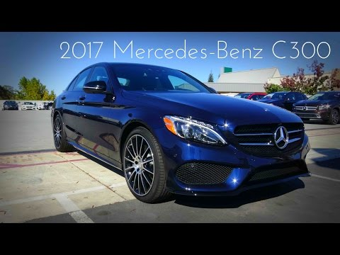 2017 Mercedes-Benz C Class (C300) 2.0 L Turbo 4-Cylinder Review