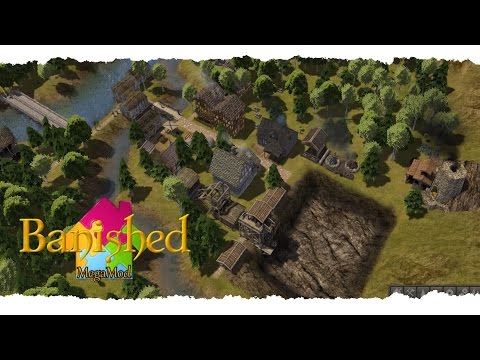 BANISHED: MEGA MOD » Ordnung im Chaos « Gameplay Deutsch/German