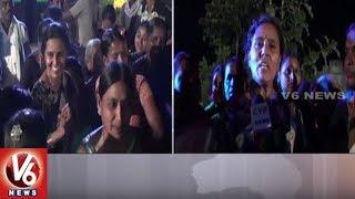 Vimalakka Participate In Bahujana Bathukamma Festival Celebrations | Mancherial District