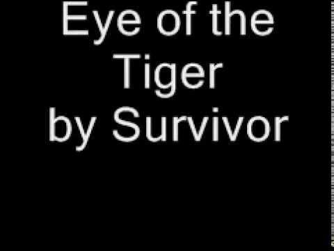 eye of the tiger lyrics deutsch youtube. Black Bedroom Furniture Sets. Home Design Ideas