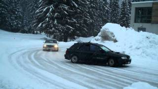 Flaine BMW, subaru 3
