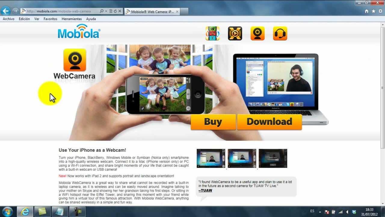 mobiola web camera activation key