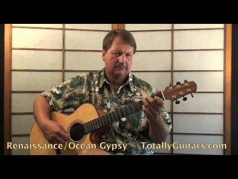 Renaissance - Ocean Gypsy Guitar Lesson