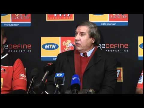 GLRU Boss Kevin de Klerk confident the Lions will be in Super Rugby in 2013 - GLRU Boss Kevin de Kle