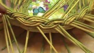 ▬► Газетное плетение. Объемная загибка. Часть 12.2.