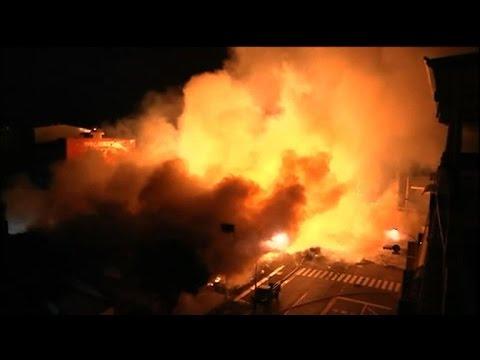 Gas blasts kill 24, injure 271 in Taiwan