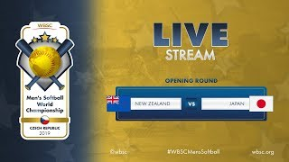 New Zealand v Japan WBSC Mens Softball World Championship 2019