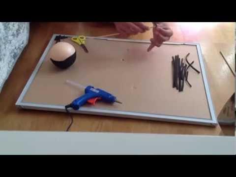 Cómo hacer el pelo rizado de las fofuchas. - YouTube