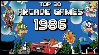 TOP 20 ARCADE GAMES OF THE YEAR 1986