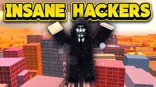 INSANE HACKERS IN 2 BILLION VISITS UPDATE! (ROBLOX Jailbreak)