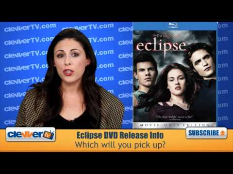 The Twilight Saga: Eclipse DVD Release Info