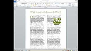 Advanced Word: Tools for Desktop Publishing