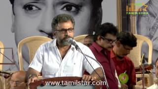 SS Rajendran First Memorial Tribuite Function Part 1
