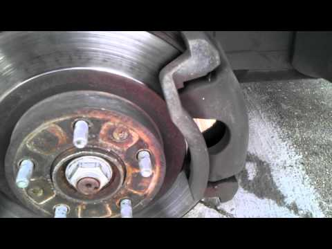 Ford Fusion 2007. front brake pads replace