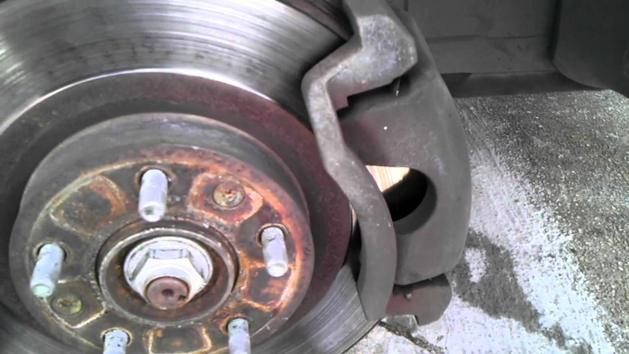 Ford Fusion 2007 Front Brake Pads Replace Youtube