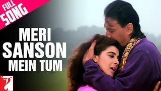 Meri Sanson Mein Tum - Full Song   Aaina   Jackie Shroff   Amrita Singh   Kumar Sanu   Asha Bhosle
