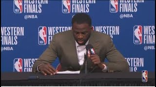 Draymond Green Postgame Interview | Warriors vs Rockets Game 5