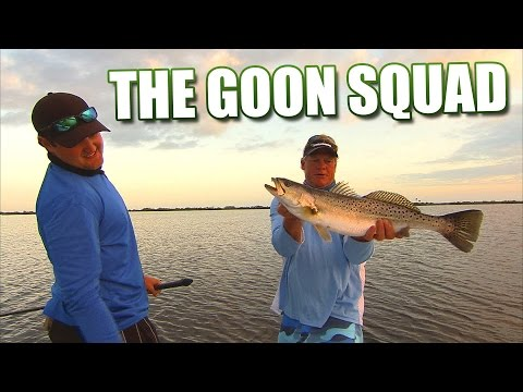 The Goon Squad - Mosquito Lagoon Trout & Redfish