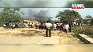 7th Class Student Dies In Truck Accident In Balasore, Protesters Burn Truck