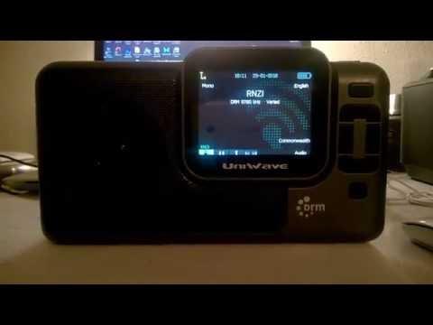 9780 kHz Radio New Zealand International DRM