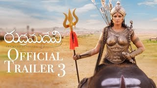 Rudhramadevi Official Trailer 3