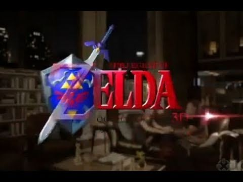 Legend of Zelda: Ocarina of Time 3D - Robin Williams Trailer