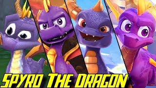 Evolution of Spyro (1998-2018)